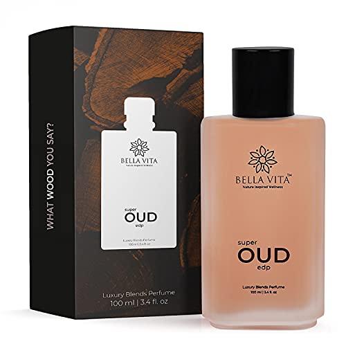 Bella Vita Organic Super Oud Unisex Perfume For Men & Women, 100ml