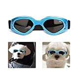 Dog Goggles for Small Dogs, Pet Sunglasses Adjustable Eye Wear Protection Windproof Sunglasses