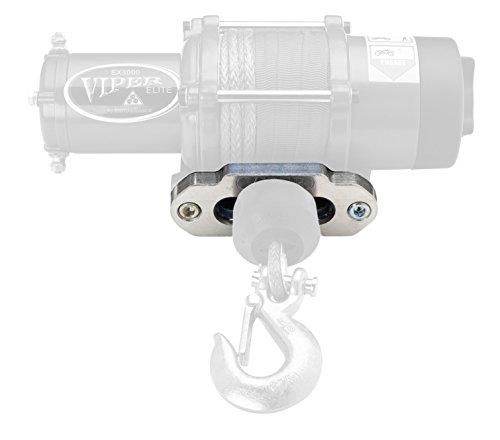 """MotoAlliance VIPER ATV/UTV Aluminum Hawse Fairlead for Synthetic Rope 4.875"""" x 3"""" pattern"""