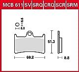 Pastiglie freno TRW organiche Allround MT-07 Moto Cage ABS RM04 15 – 16 anteriore