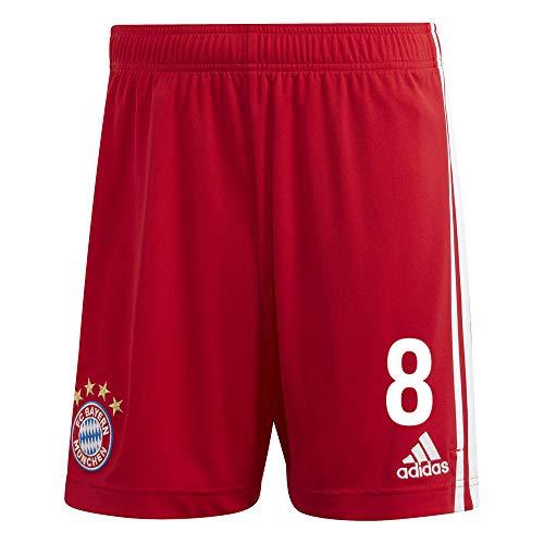adidas FCB FC Bayern München Hose Home Heimshorts 2020 2021 Kinder Martínez 8 Gr 176