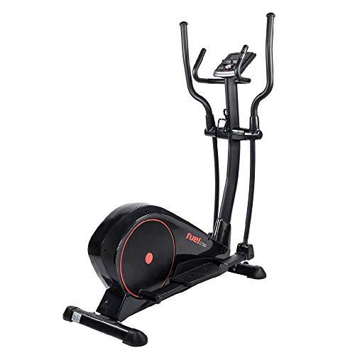 Fuel Fitness CT300 Crosstrainer, Crosstrainer-Stepper für zuhause, optimale Bewegung, Nutzergewicht bis 150kg, LCD-Trainingscomputer, KINOMAP-kompatibel