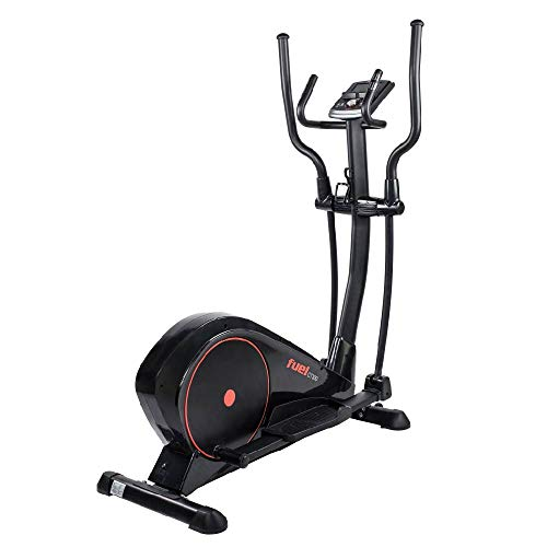 Fuel Fitness CT300 Crosstrainer, Crosstrainer-Stepper für zuhause, optimale Bewegung, Nutzergewicht bis 150kg, LCD-Trainingscomputer, KINOMAP-kompatibel