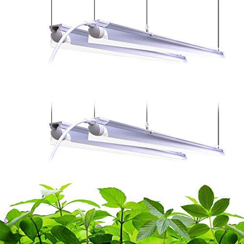 Barrina LED Grow Light 4FT,168W(4 x 42W, 1000W Equivalent), Full Spectrum,...