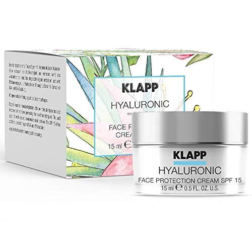 Klapp Hyaluronic Face Protection Cream SPF15 Promo 15 ml Limitierte Edition