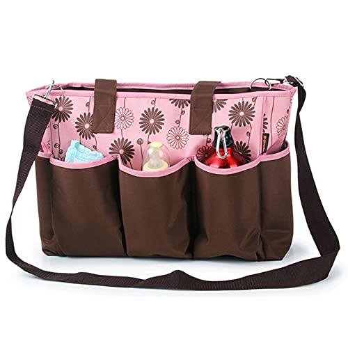 XYYZX Bolsa de Pañalera, bolso para pañales unisex,Bolsa para cambiar pañales para bebés,Impermeable,Gran Capacidad,Elegante y Duradero -B/A...