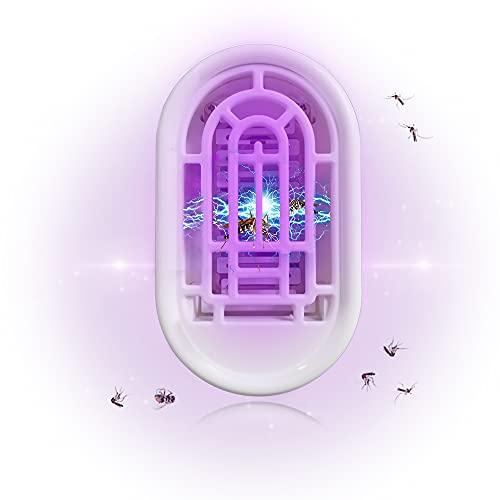 Moustique Tueur Lampe,Lampe Anti-Moustique - Lampe UV, Tueur d'Insectes Electrique, Destructeur de Mouches, Anti-Moustique Intérieur, Piège à Mouches Efficace (UV)