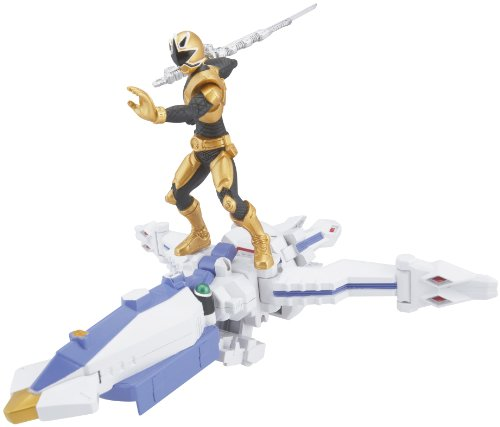 Power Ranger Zord Vehicle w/Figure, OctoZord with Gold Ranger