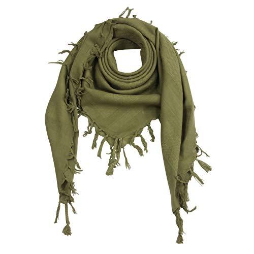 Superfreak Palituch - grün-olivgrün - grün-olivgrün - 100x100 cm - Pali Palästinenser Arafat Tuch - 100% Baumwolle