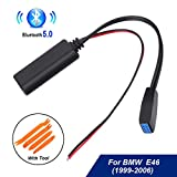 Car Business CD Bluetooth Module Audio 10Pin AUX Cable Adapter for BMW E46 3-SERIES CD