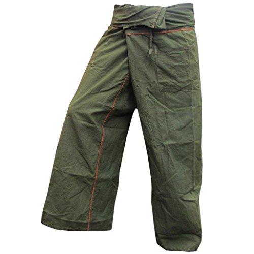 PANASIAM - Pantalón - para Hombre oliven grün Talla única