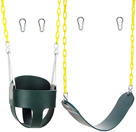 High Back Full Bucket Swing and Heavy Duty Swing Seat Swing Set Accessories product image