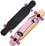 GFF Double-up Skateboard Adult Beginner Entry Level Boy Professional Board Action Short Board Four-Wheeled Scooter(Color : C)