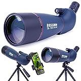 Telescopio Terrestre, Zoom de 20-75x70 mm Lente óptica Totalmente Multicapa Telescopio de Diseño...