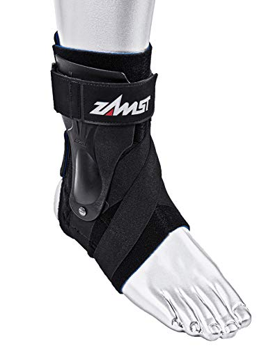 Zamst A2-DX Ankle Brace, Black, Medium - Left