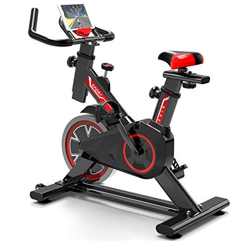 GJXJY Bicicleta De Spinning Bici EstáTica Indoor De Volante De Inercia De Bicicletas De Ejercicio ConexióN Resistencia/Sillin Ajustable Y Pantalla LCD para Gimnasio De Oficina En Casa