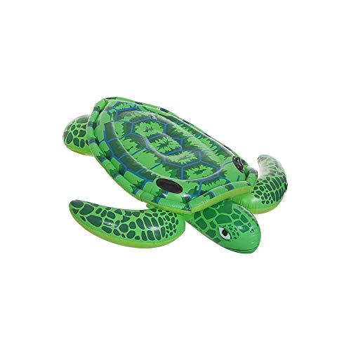 LKNJLL Flotador Piscina Barco balsa Inflable del Verde de mar Vida Infantil, la Cama Flotante de PVC Juguetes Flotador Natación Anillo Silla de salón de Agua