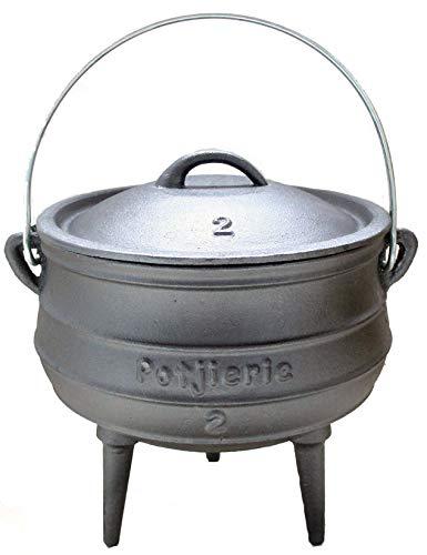 Potjie Gr.3 - Südafrikanischer Dutch Oven - für 4-8 Personen