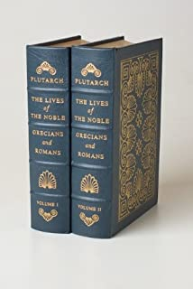 The Lives of The Noble - Grecians and Romans (TWO VOLUME SET)