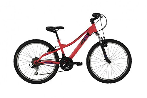 Mountain Bike FLIP da ragazzo con telaio in acciaio 32 cm, forcella ammortizzata Arancio