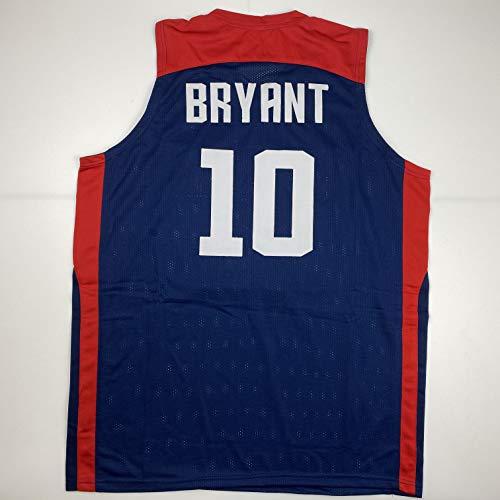 Unsigned Kobe Bryant United States USA Blue Custom Stitched Olympic Basketball Jersey Size Men's XL New No Brands/Logos