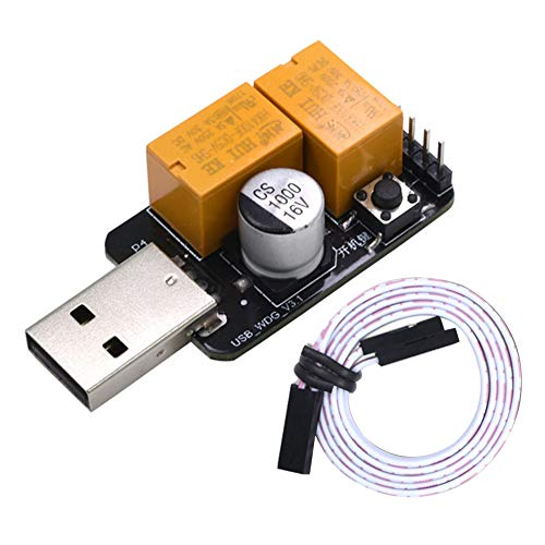 SUNERLORY USB Watchdog Server Voor PC Desktop Praktische Draagbare Onbeschermde Blauw Scherm Mijnbouw Game BTC Miner Professionele Controle Board Metalen Computer Automatische Herstart
