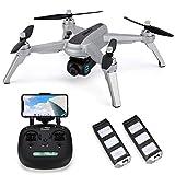 JJRC JJPRO X5 Wifi Drone GPS avec caméra HD 2K Vidéo en direct et GPS Retourner à la maison Quadricoptère ,moteur sans balais, Suivez-moi, longue plage de contrôle, maintien de l'altitude (Gris)