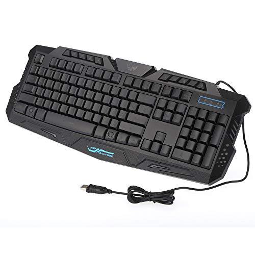 Docooler Wired Keyboard (Russische Version) Gaming Tastatur für Win7 / 8 / Vista/XP/OSX