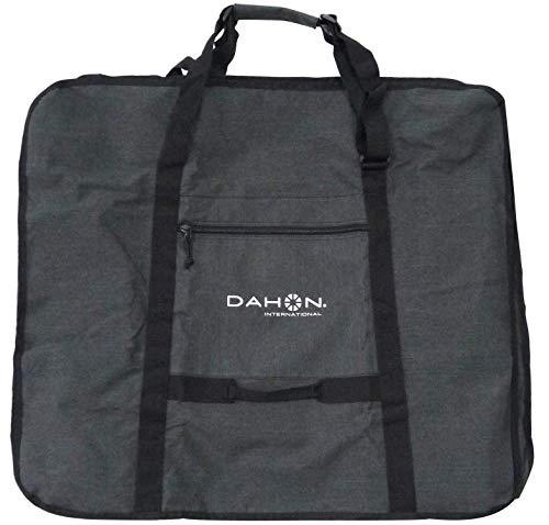ダホンインターナショナル(DAHON INTERNATIONAL) Carry Bag(キャリーバッグ) 輪行袋 ハンドル固定型収納ケース付き 完全収納タイプ ファスナー付き 肩掛けベルト付き 手持ちグリップ付き 14/16 ブラック