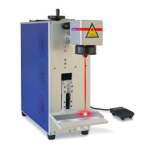 Portatile Desktop Fibra Laser Marcatura Macchina 30 w per Metallo FAI DA TE Logo Incisore Macchina Legno Incisione Laser Jewllery Macchina