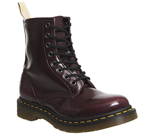Dr. Martens 1460 Vegan 8 Eye Cambridge Brush Cherry Red 40