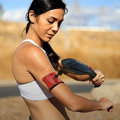 PADO CM-07 Dual Motor Percussion + Vibration Therapy Massager (White)   Official Patented CM-07™   Treat pain for back, sciatica, neck, leg, foot, plantar fasciitis, tendinitis, arthritis, sports