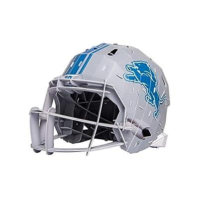 FOCO Detroit Lions NFL PZLZ Helmet, Team Color
