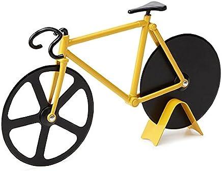 Cortador Fatiador Pizza Massas Temperos Formato Bicicleta