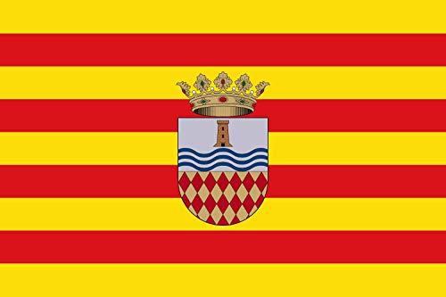 magFlags Bandera Large De Moncofar Castellón, España | Bandera Paisaje | 1.35m² | 90x150cm