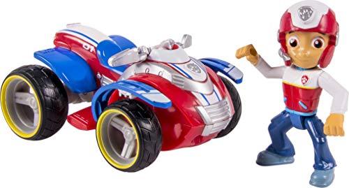 LA PAT' PATROUILLE – Véhicule + Figurine Ryder – Véhicule Jouet Avec Figurine de Ryder – 6024006 – Paw Patrol – Jouet Enfant 3 Ans et +