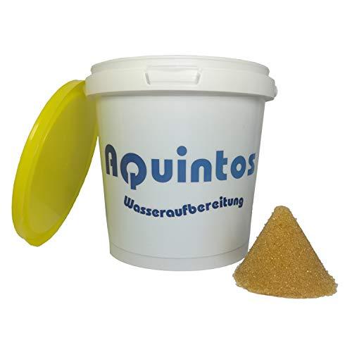 Aquintos Wasseraufbereitung Nachfüllgranulat Entmineralisierungsgranulat 1 Liter für Dampfbügelstationen und Bügeleisen