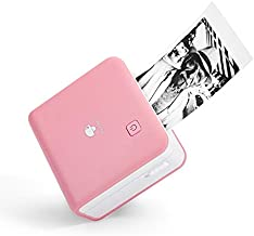 Phomemo M02 Pro 300dpi Mini Pocket Printer, Portable Bluetooth Thermal Printer Inkless Wireless Recharge Compatible with iOS & Android, Ideal for Printing Photo, Label, to-Do Lists, Journal, Scrapbook