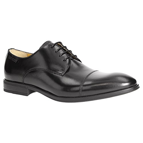 Zweigut® Smuck #272 Heren lederen Cap-Toe Derby Business Sneakergevoel, licht flexibel