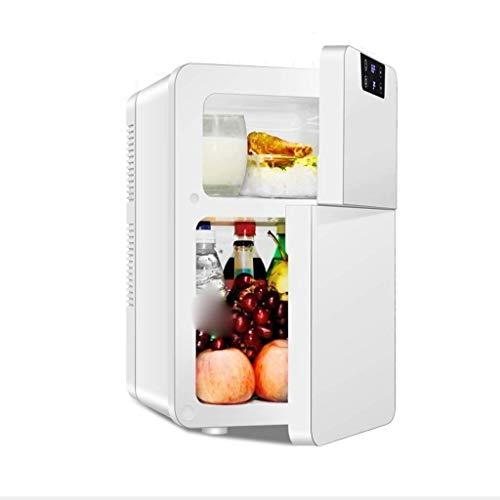 LJYY Mini refrigerador portátil, refrigerador eléctrico, refrigerador Universal, Viaje en automóvil, hogar, Trabajo, Escritorio,...