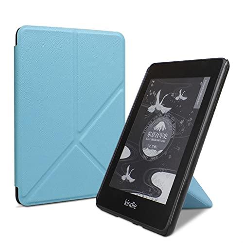 E-libro de tapa protectora Cubierta magnética inteligente para Kindle 2019 Funda plegable de la 10ª generación, para 2018 PaperWhite 4 3 2 1 para edición 5º 6º 7º 2017 función del sueño / vigilia