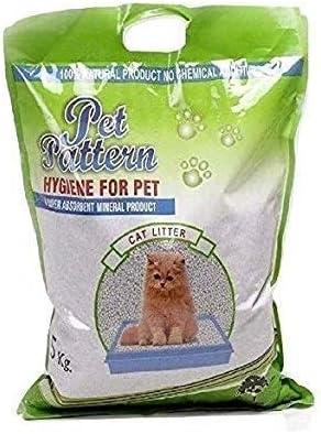 Pet Pattern Ball Shaped Cat Litter, 5kg - Pack of 2