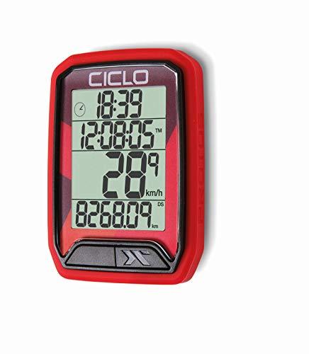 CICLO PROTOS 113 Ordenador de la Bicicleta, Unisex-Adult, Ro