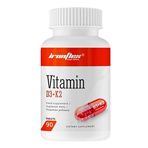 Iron Flex Vitamin Complex D3 + K2-90 Tablets - Bones, Teeth, Tendons and Joints Support