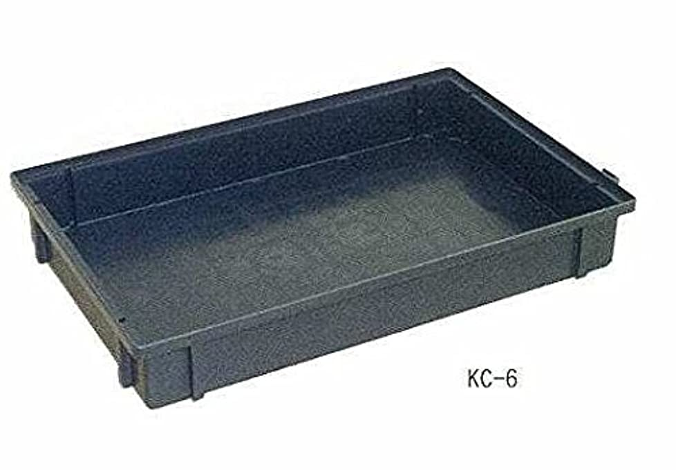 出発する等々アラバマ導電性パーツボックス KC‐6EB 黒(10個セット)
