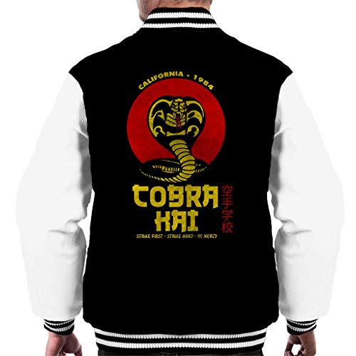 Cloud City 7 Retro Cobra Kai Snake Logo Men's Varsity