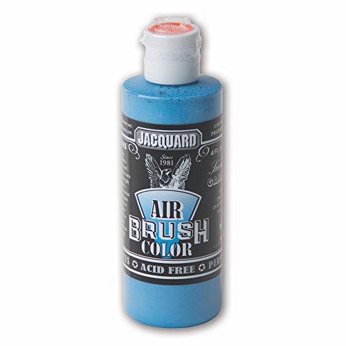 Jacquard Sneaker Series Airbrush Color by, Artist-Grade Fluid Acrylic Paint, Use on Multiple Surfaces, 4 Fluid Ounces, Gamma Blue
