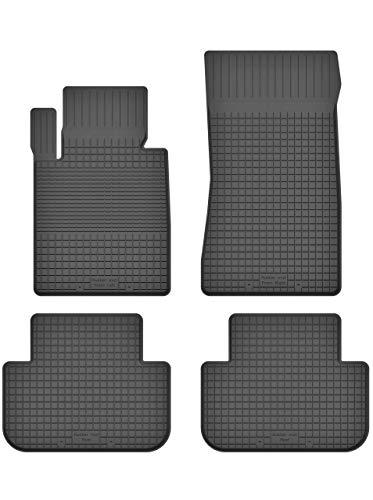 KO-RUBBERMAT Gummimatten Fußmatten 1.5 cm Rand geeignet zur BMW 5 5er e39 (Bj. 1996-2004) ideal angepasst 4 -Teile EIN Set