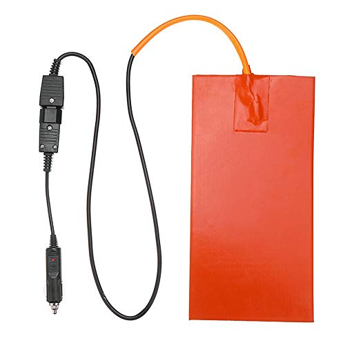 Nologo L-TAO-Pulley, 12V del Silicone 1pc 152X304mm 100W Heater for Pizza Hot Food Delivery Borsa elettrica Mat Riscaldamento Pad con 65 Gradi Celsius di Riscaldamento del termostato