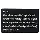 Luvimie Engraved Wallet Inserts, Personalized Wedding Anniversary Gift...
